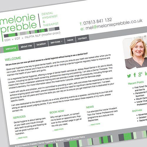 melonie prebble – dental hygienist & therapist